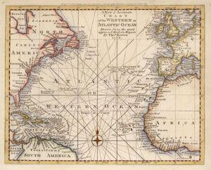 Atlantische wereld verkleind