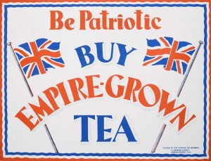 This 1932 poster was one of many designed for the Empire Marketing Board.  Courtesy of the Museum of London website http://www.20thcenturylondon.org.uk/mol-84-1-890