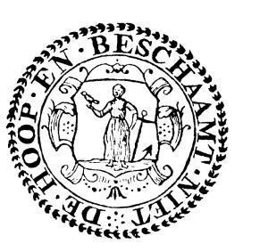 A 17th-century seal of the Dutch Reformed Church, Cape Colony.