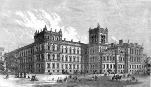 Drawing of the Foreign and Commonwealth Office, 1866.