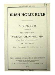 Churchill Irish Home Rule