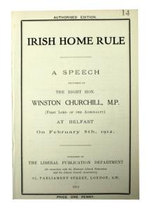 Churchill Irish Home Rule