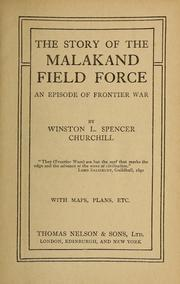 churchill malakand field force