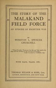 churchill malakand field force
