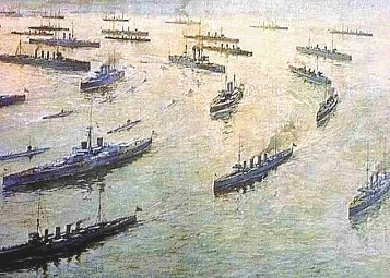 ww1 arms naval race 1898 - germany begins to build up its navy to challenge the british navy's   similar battleships as an all-out arms race ensues between germany and britain.