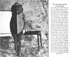 Brewster Armor Article