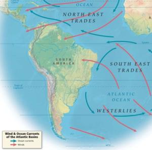 "Screenshot of ""Wind and ocean currents of the Atlantic basins"" (Emory University)"