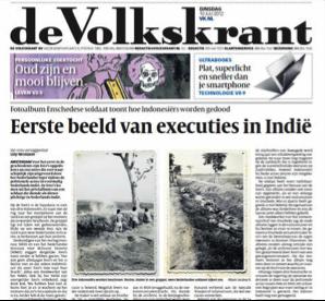 Photos in De Volkskrant July, 10 2012