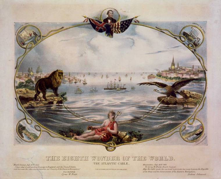The Atlantic Cable as the Eighth Wonder of the World - Image credit: Library of Congress, Prints and Photographs Division, reproduction number LC-USZC4-2388