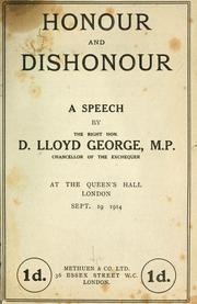 Lloyd George Speech