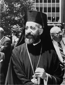 Archbishop Makarios III of Cyprus