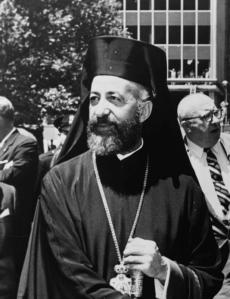 Archbishop Makarios III of Cyprus