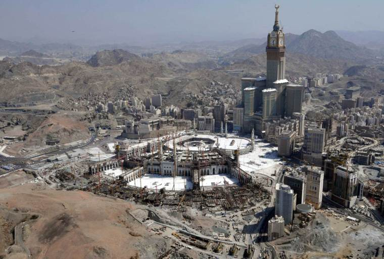 The holy city of Mecca, 2013. Fayez Nureldine—AFP/Getty Images
