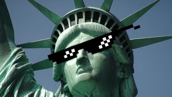 Cool Lady Liberty