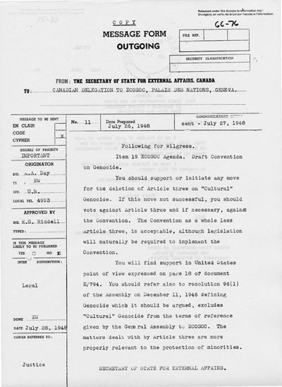 A 1948 document that mentions the term