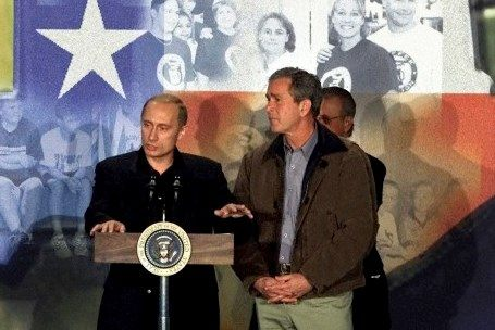 Putin-and-Bush-in-Texas-JEFF-MITCHELL-Reuters