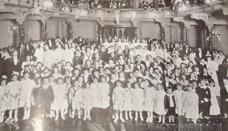 CHILDREN'S BALL Victoria Hall 1908. Fund rising occasion. Except for the British Cemetery Society, all other British institutions were in constant financial troubles. Fund rising was a constant occurrence. There was even a