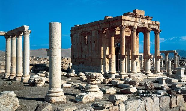 The Roman ruins in Palmyra. Photograph: G Dagli Orti/De Agostini/Getty