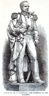 William Stevenson, Governor of Mauritius