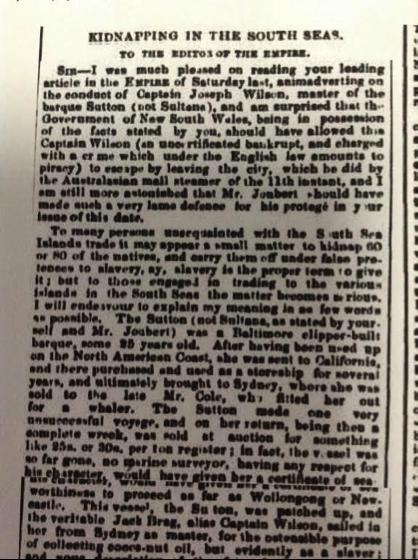 Empire, 1 July 1858