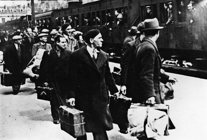 Pro-Nazi French officials deported 76,000 Jews between 1940-1944.