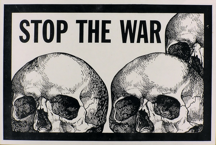 150 surviving prints of the anti-Vietnam war artworks made at University of California, Berkeley, are to be shown in a new exhibition at Shapero Modern, London, as featured on the Guardian
