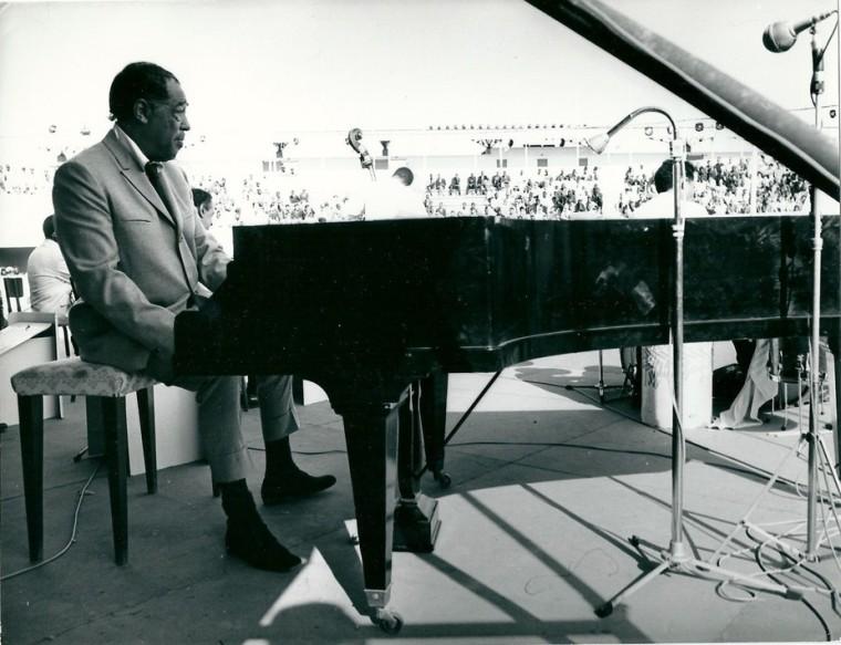 Ellington on stage. David Murphy, Author provided