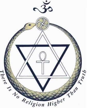 Logo for the international Theosophical Society.
