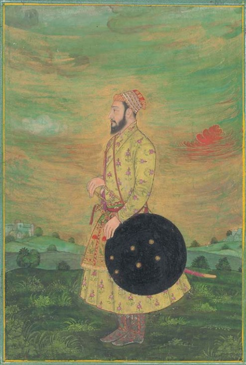 A Mughal soldier during the Deccan campaigns. Circa 1670. Los Angeles County Museum of Art. Wikimedia Commons.
