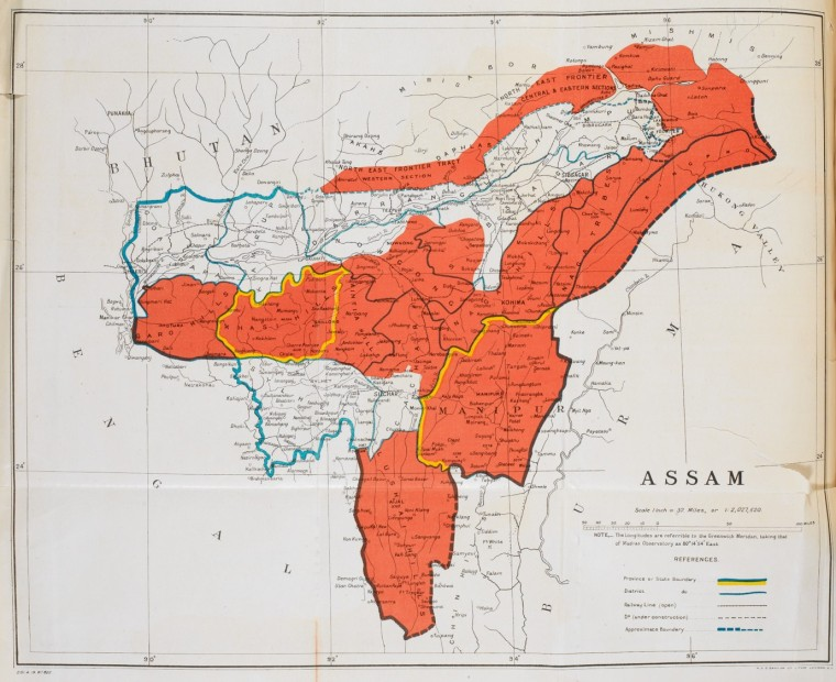 Assam, image courtesy of The British Library. © The British Library Board, IOR/L/P&J/9/3, p.291