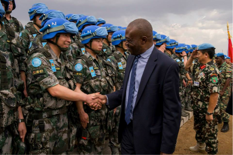 Towards a more formal empire? Chinese peacekeepers in South Sudan