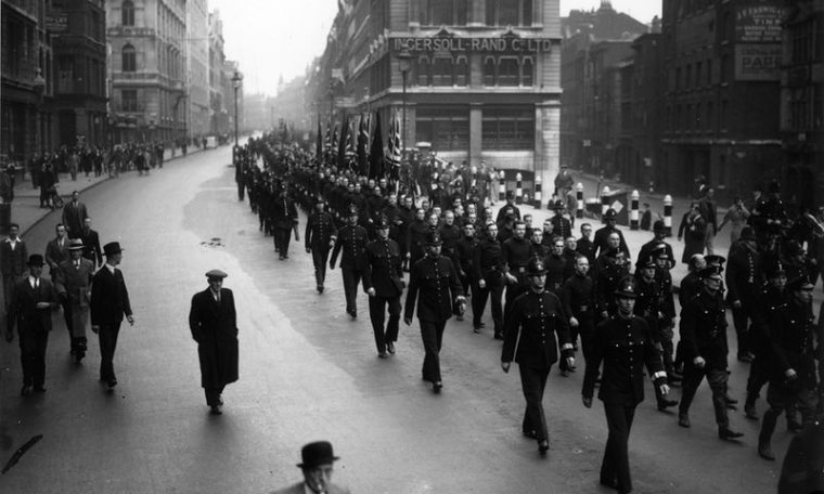 march British union of Fascists